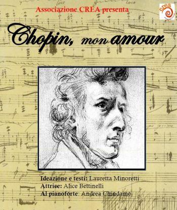 La locandina dello spettacolo Chopin, mon amour!
