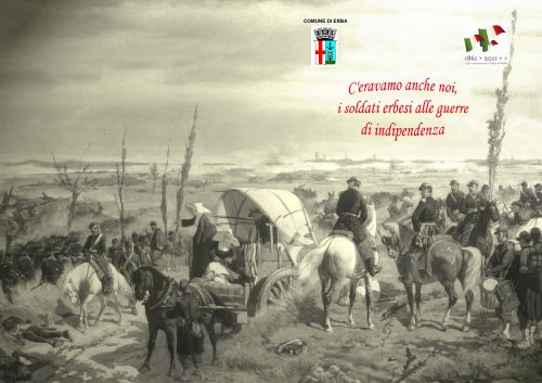 La copertina dell'opuscolo dedicato ai soldati erbesi.